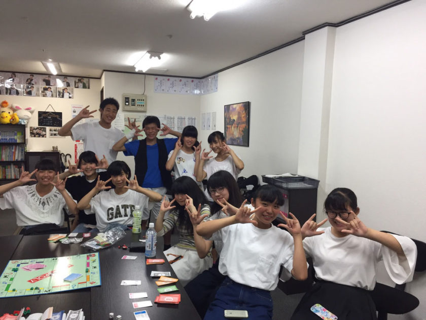 AQURASの生徒たち