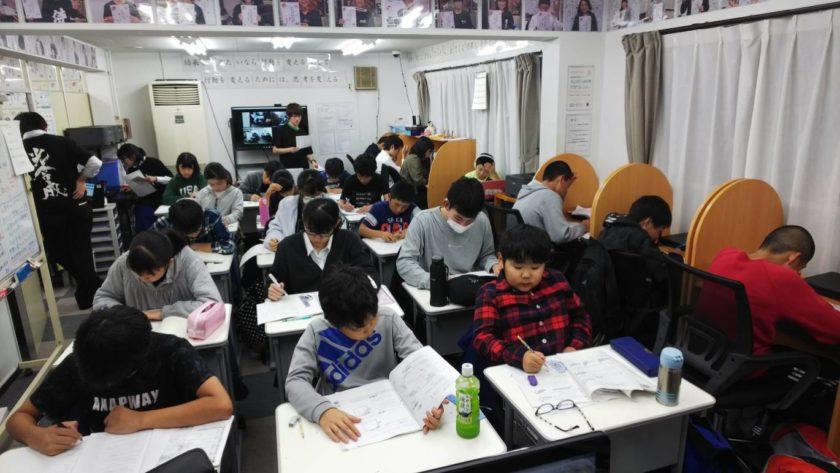 AQURASに通う小学生たち